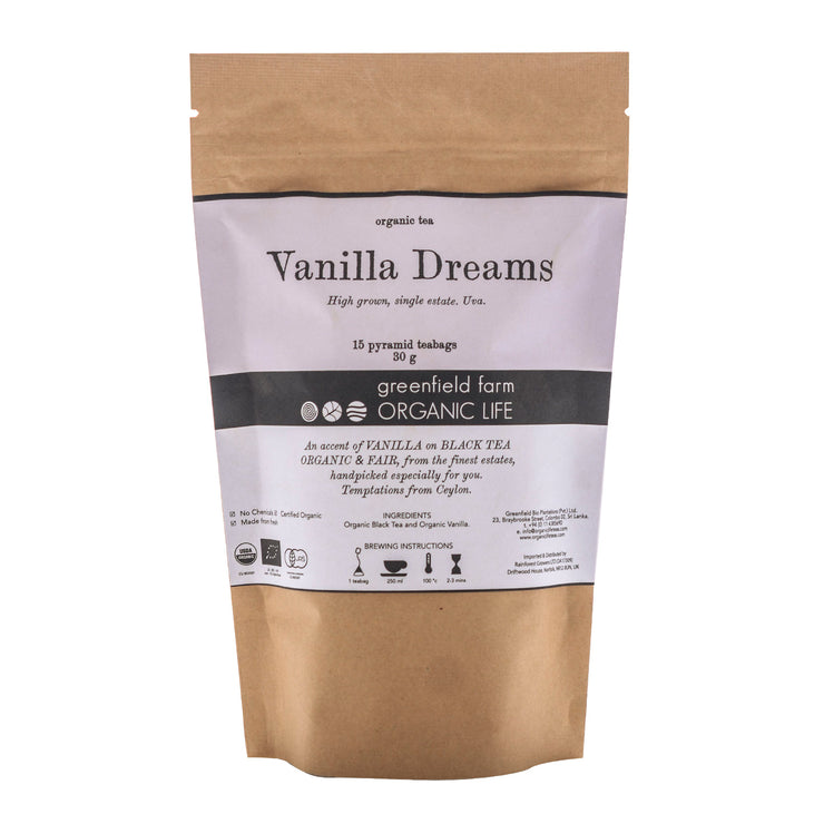 Greenfield Vanilla Tea-Vanilla Dreams 15PTB KPP