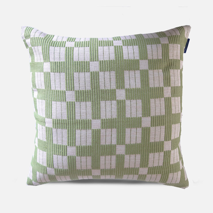Kaluthara Pear Green Cushion Cover