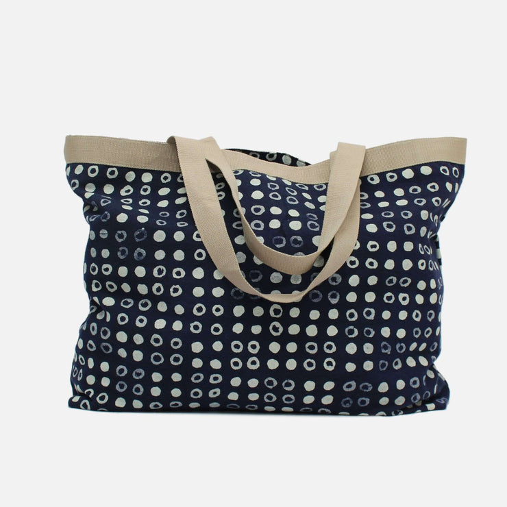 Batik Dot Pattern Tote Bag