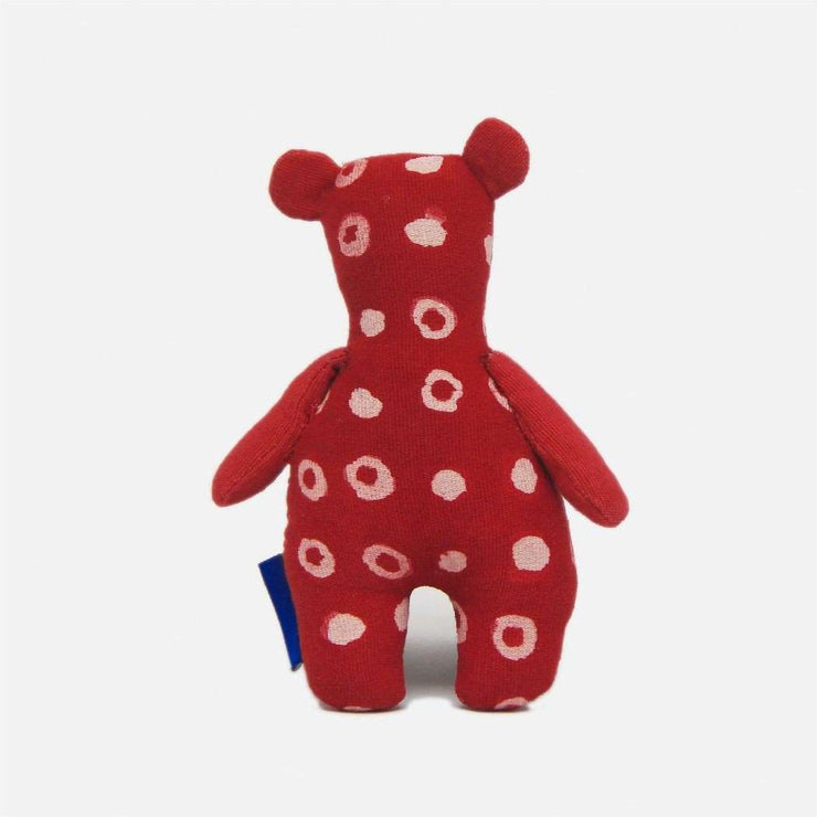 Batik Dot Red Bear
