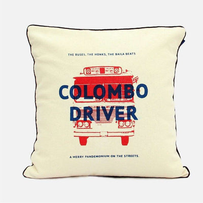 City Graphics Colombo Driver Cushion Cover