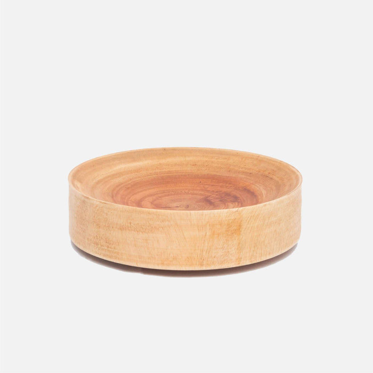Concave Wooden Bowl L