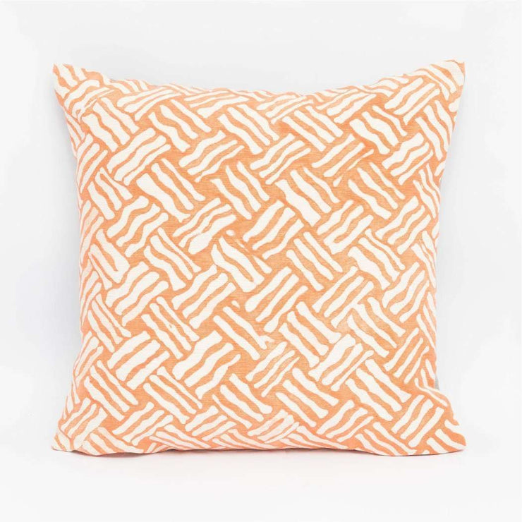 Crail Orange Cushion Cover