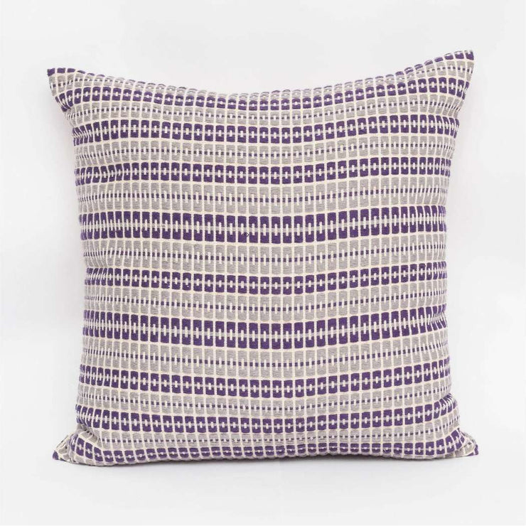 Delft- Purple and Gray Cushion Cover