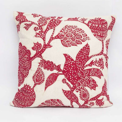 Delum Red Cushion Cover