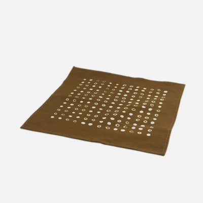 Dot Napkin - Brown