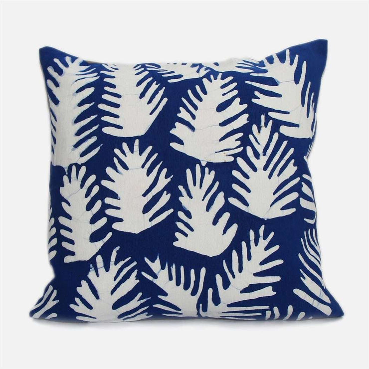 Fern Blue Cushion Cover