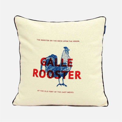 City Graphics Galle Rooster Cushion