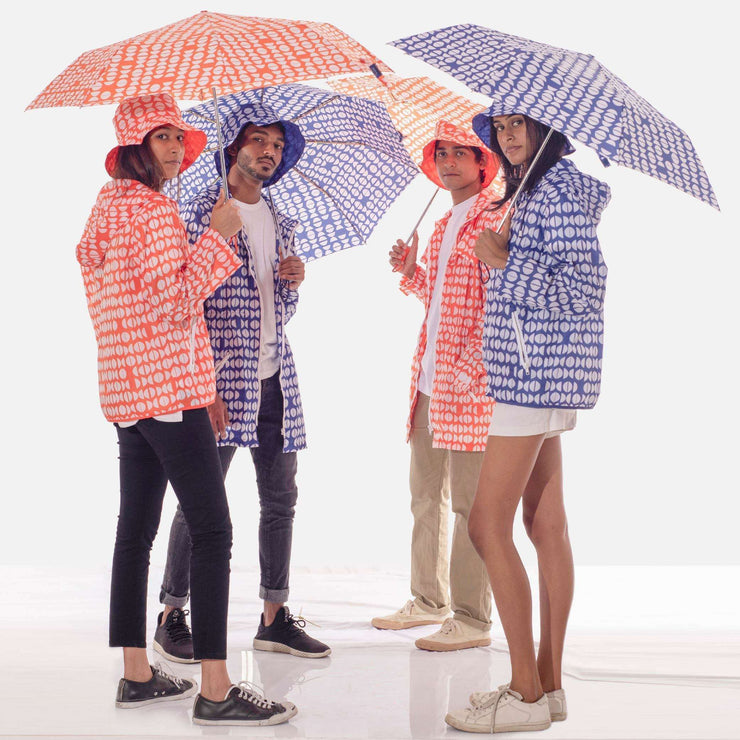 Graphic Foldaway Umbrella