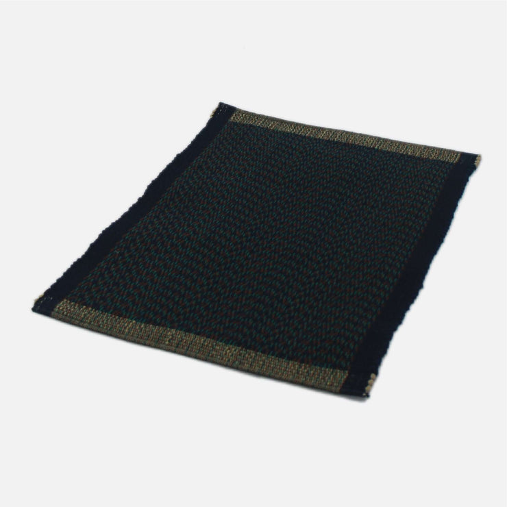 Handloom Placemat Navy Tribal