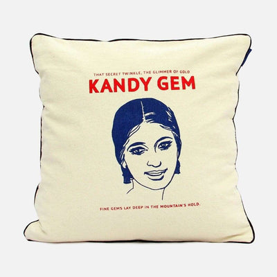 City Graphics Kandy gem cushion cover