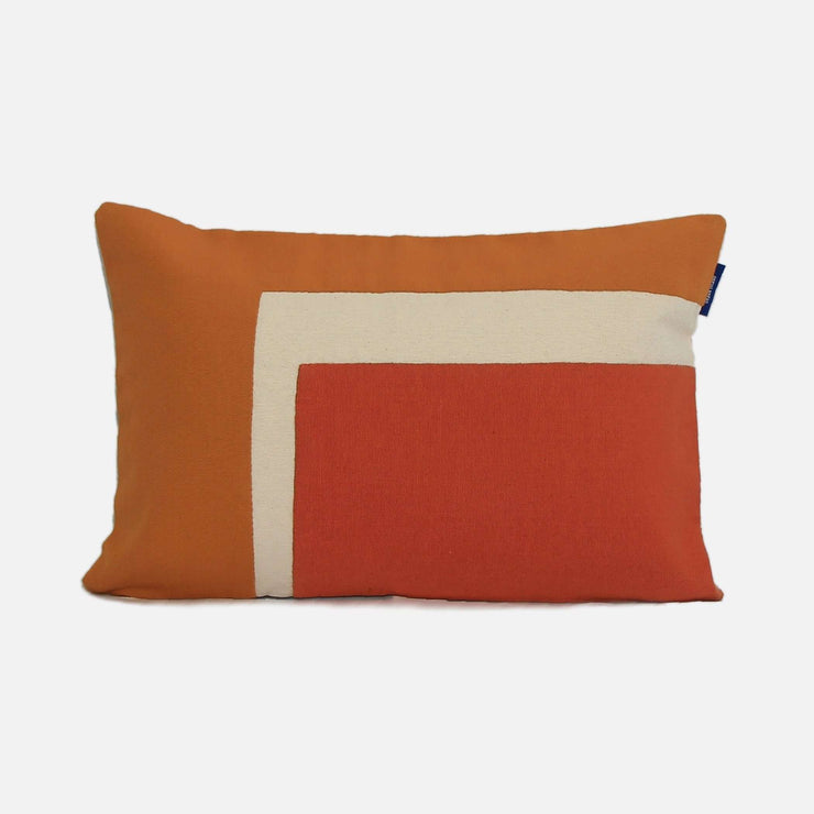 Lena Orange/Rust Cushion Cover