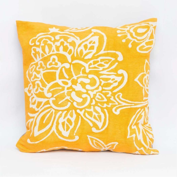 Niyangala Print Yellow Cushion Cover