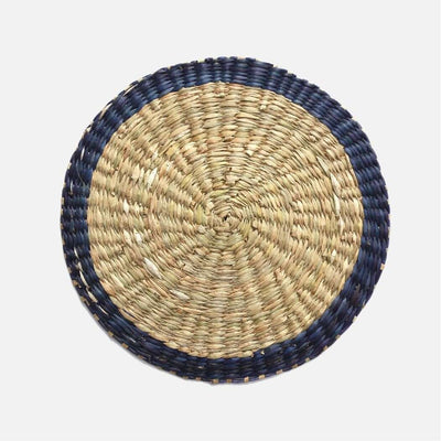 Pung Table Place Mat Blue Rim