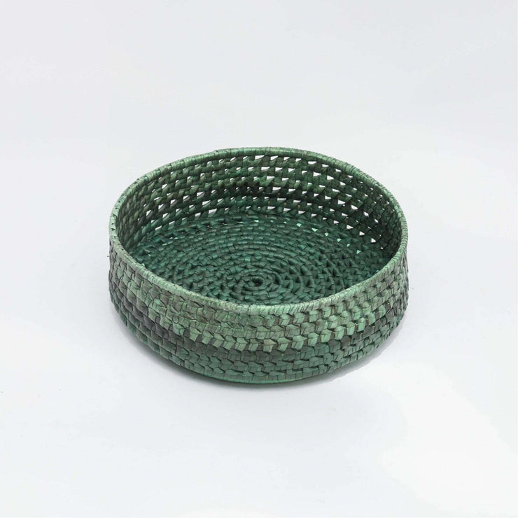 Round Bread Basket M  Green