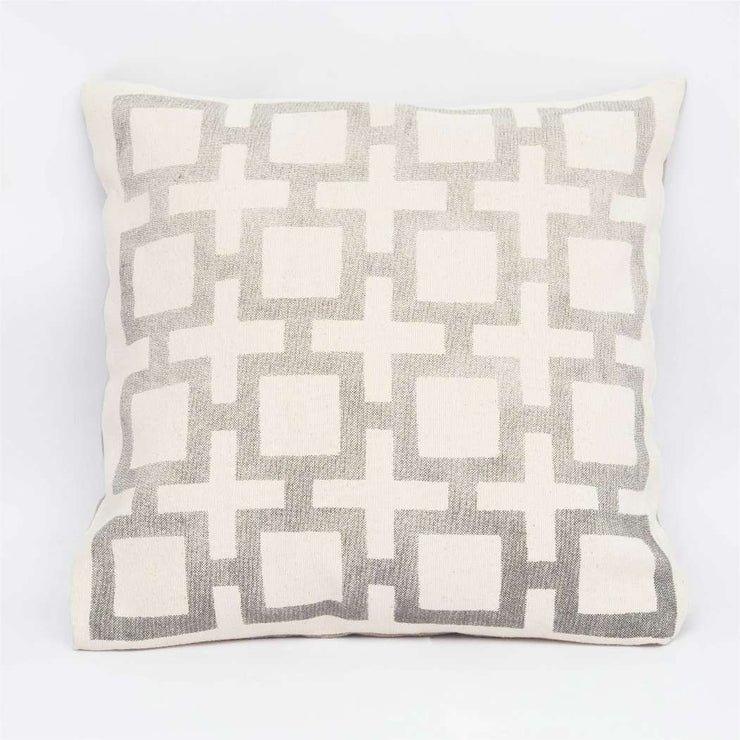 Square - Black Cushion Cover