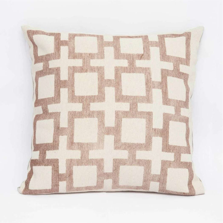 Square- Brown Cushion Cover