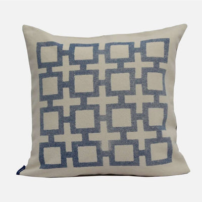 Square- Navy Cushion Cover
