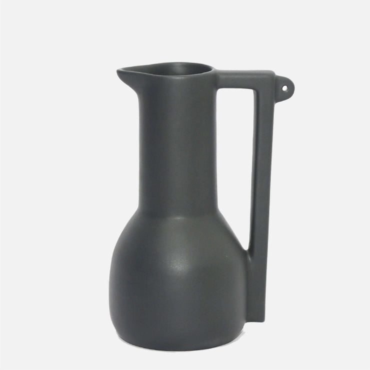 Tall Bird Pitcher Black