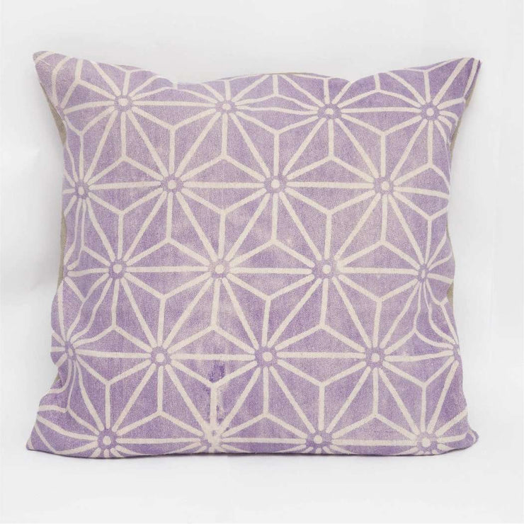 Tharu- Purple Cushion Cover