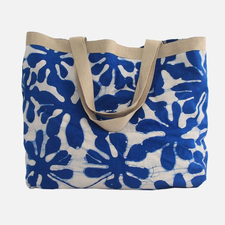 Tote Bag - Blue Araliya