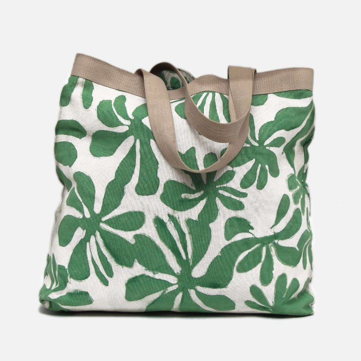 Tote Bag Green Araliya Batik