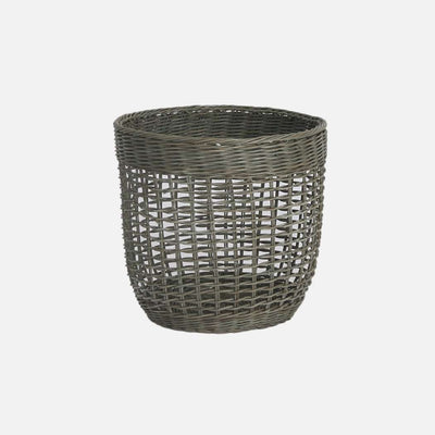 Waste Paper Basket Grey