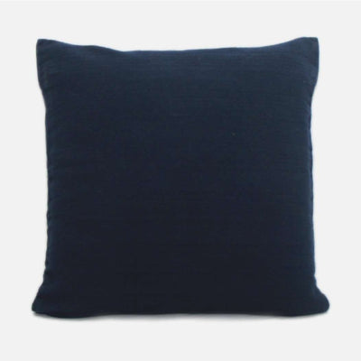 Weave Navy Solid Dyed Cushion