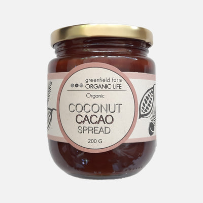 Greenfield Cacao Coconut Jam-Bottle 200g