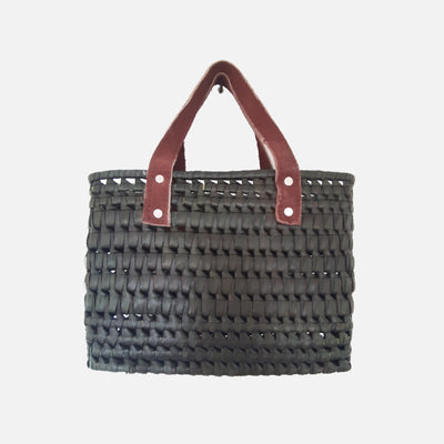 Kopay Beach Basket Small - Khaki