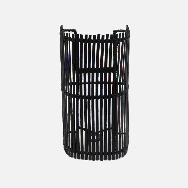 Wrap Cane Wall Light Black