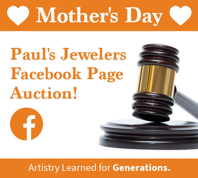 Join Paul's Jewelers  Facebook Auction!