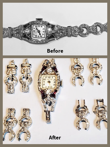 From '20's Timepiece to Multiple Matched Sets of Earrings!