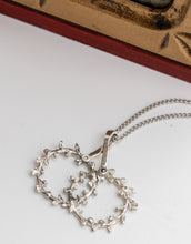 Load image into Gallery viewer, 'Theo's' Stefana Necklace in Sterling Silver with 2 Birthstones