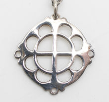 Load image into Gallery viewer, Annunciation Greek Orthodox Fundraiser Cross - Sterling Silver