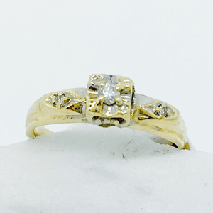 Vintage 10K Yellow Gold Ring