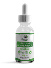 Load image into Gallery viewer, Premium Hemp oil Drops – 300mg