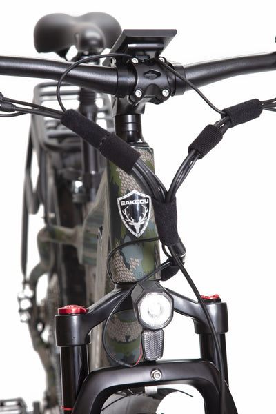 BAKCOU Mule Electric Hunting Bike - Wired Wheels