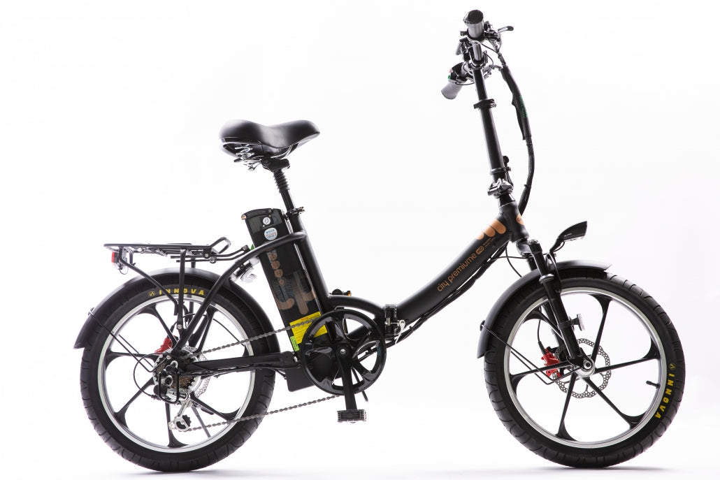 Green Bike Electric Motion City Premium Electric Bike - Wired Wheels