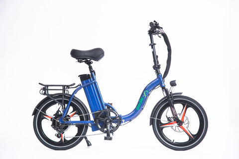 Green Bike USA GB Low Step 500 Electric Bike - Wired Wheels