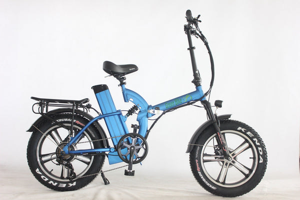 Green Bike USA GB750 Mag Electric Bike - Wired Wheels