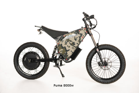 BAKCOU Puma Electric Bike - Wired Wheels