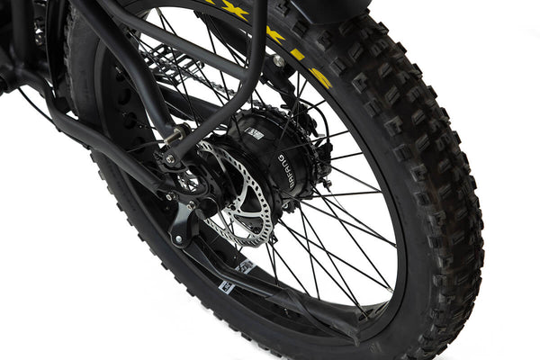 BAKCOU Flatlander Step-Through (ST) Electric Bike - Wired Wheels