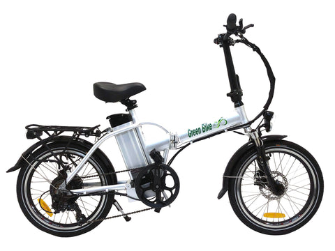 Green Bike USA GB1 Folding Electric Bike - Wired Wheels