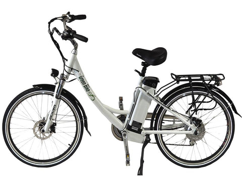 Green Bike USA GB2 Beach Cruiser Electric Bike - Wired Wheels