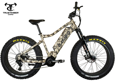 Rambo Rebel 1000w Truetimber Electric Bike - Wired Wheels