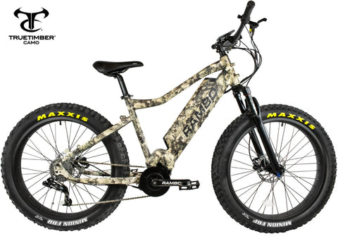 Rambo Nomad 750 XPC11 Electric Hunting Bike - Wired Wheels
