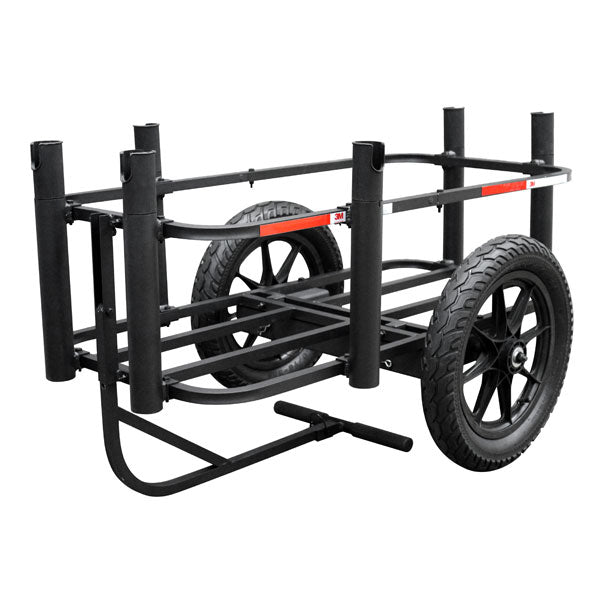 Rambo Aluminum Fishing Cart - Wired Wheels