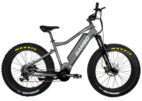 Rambo Rebel 1000w Carbon Electric Bike - Wired Wheels