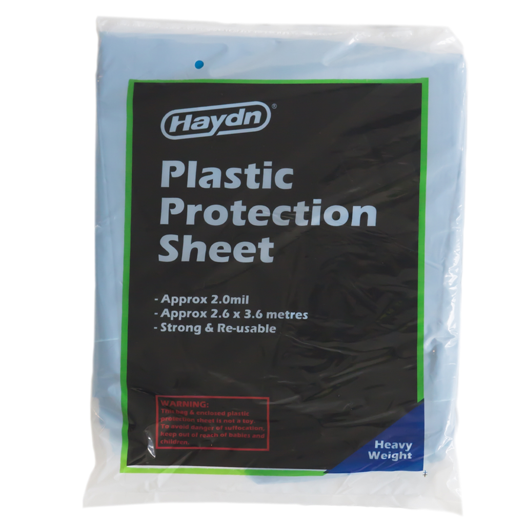 Haydn plastic protection sheet Approx 2.6x3.6 metres strong & reusable «